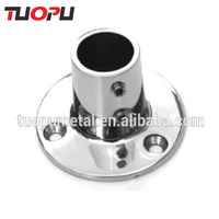 7/8'' Stainless Steel Round Pipe Base/Stanchion for Boat Yacht