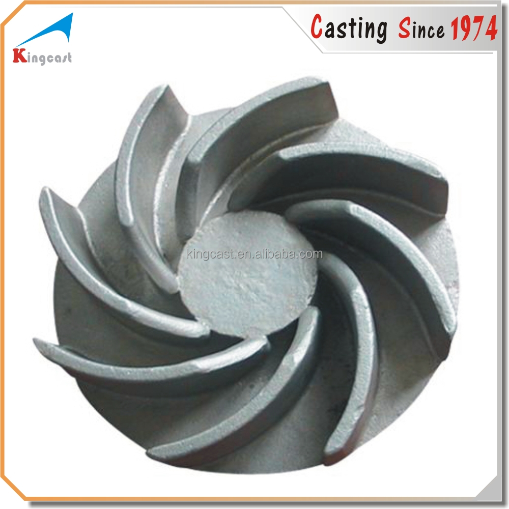 Custom centrifugal cast iron water pump impeller,blower impeller