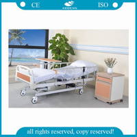 AG-BM005 detachable ABS headbord medical transfer electric patient bed