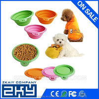 2016 Wholesale Collapsible Silicone Pet Bowl/Dog Bowl
