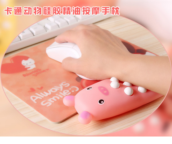 hot silicon gel wrist support mouse pad ,Advertising silicon gel wrist breast support mouse pad