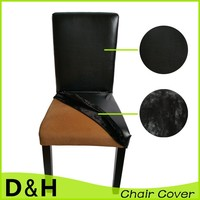 Wholesale reversible dining chair cover for wedding banquet hotel