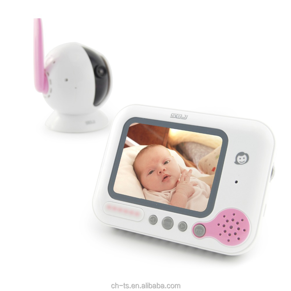 digital video baby monitor with infrared night vision 3 5 lcd screen music rechargeable. Black Bedroom Furniture Sets. Home Design Ideas