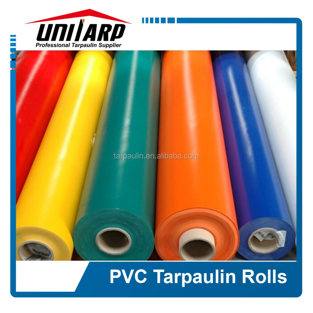 High Breaking Strength PVC Coated Woven Truck/Tent Tarpaulin