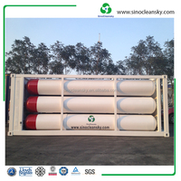 40ft 6 Tubes CNG Gas Container for Sale