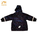 PU Rainwear Kids waterproof rain jacket
