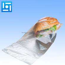 Custom design clear plastic printed bread bag for bakery food packing