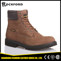 Heavy duty industrial free shipping double safety safety shoes and work boots FD6206