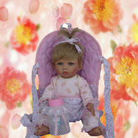 16 inch meet with great favor baby clay doll