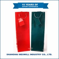 High Quaility Eco-friendly paper wine bottle bags cheap
