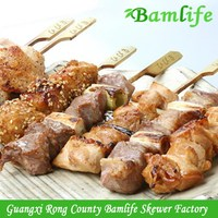 Best quality creative bbq picnic bamboo skewer product