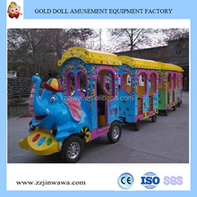 Hot Sale Cheap Amusement Rides Electric Trackless Train