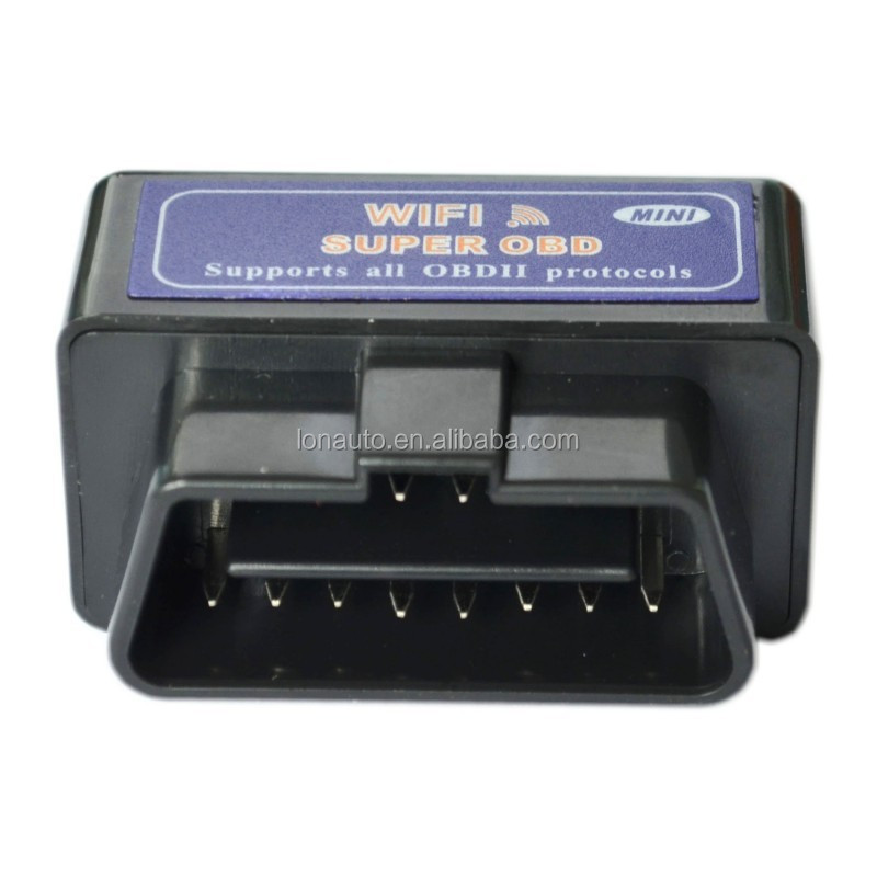Mini WiFi OBD2 OBD 2 Scanner Scan Tool auto scanner car diagnostic tool Code Reader for iOS iPhone iPad and Android