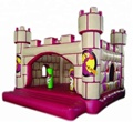 HOLA pink inflatable castle/inflatable bouncy castle for sale