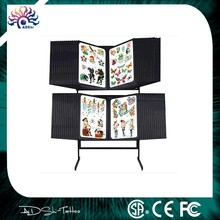 56panes floor flash rack,New Standing Flash Twin Racks Art Display Tattoo Supply Tattoo Machine Books