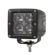 16W 4D Lens LED Work Light 3x3 inch Cube Pods Square Spot/Flood Beam Offroad Driving for SUV ATV 4x4 4WD Truck Motorcycle Boat