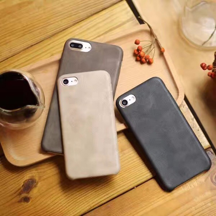 2016 Hot Sale genuine leather phone case for iphone 7
