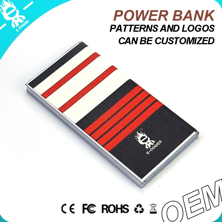 new pu leather portable pocket powerbank high speed power bank charger