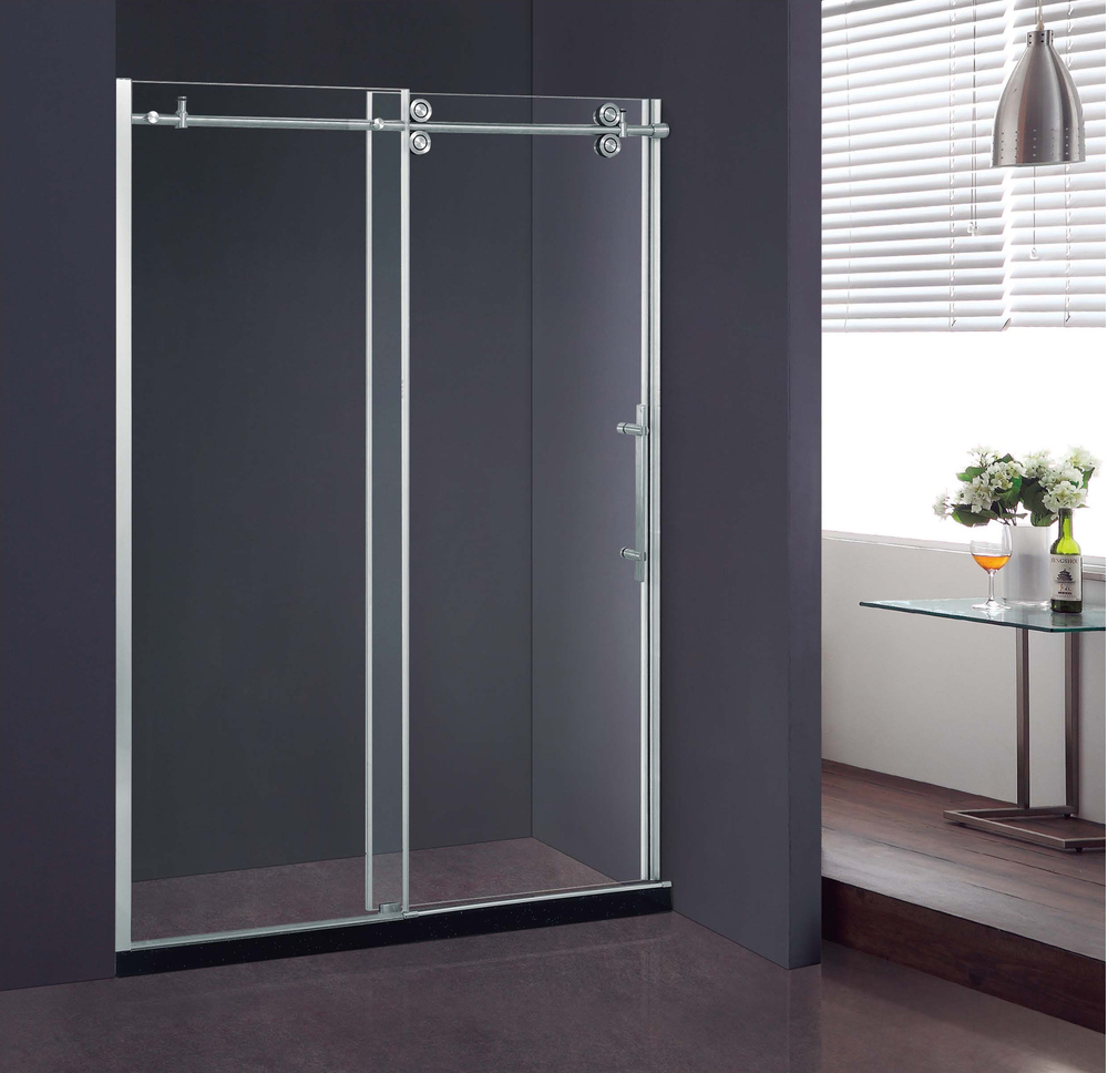 Tempered Glass Corner Glass shower box price Straight 8/10mm (KD8013B)