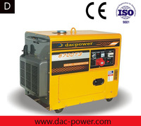 5KW open type silent diesel generator 100% copper wire single cylinder air cooled engine