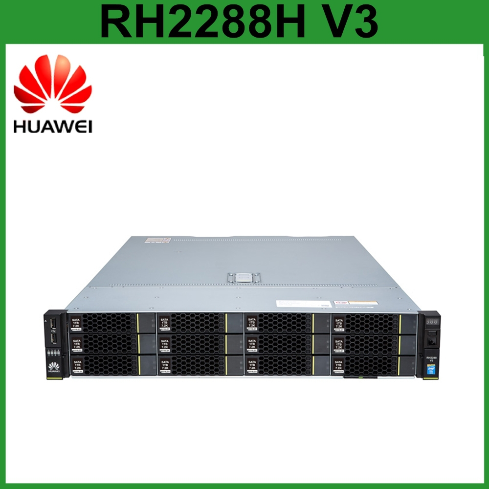 Best price Original Huawei 10GE network port 2U rack server RH2288H V3