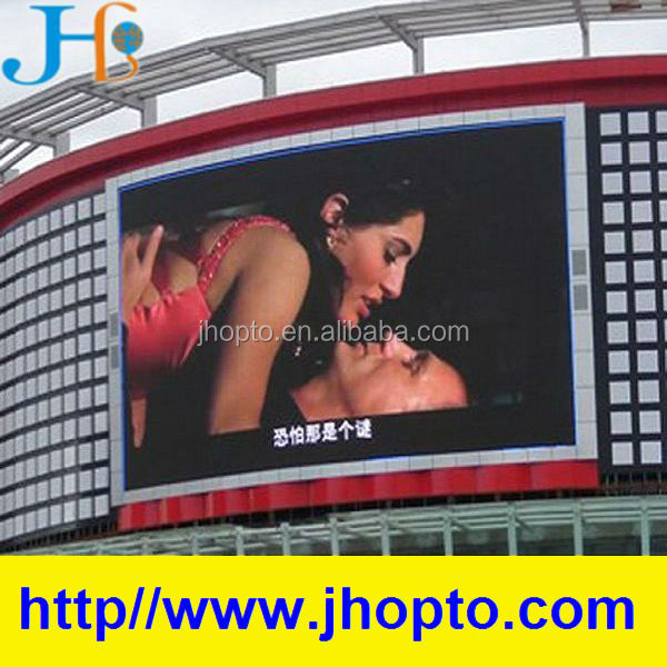 p6 super thin super bright p6 stage background outdoor electronic advertising led display screen