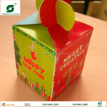 FAVORABLE PRICE PAPER MATERIAL SHOPPING HANDLES GIFT CANDY BOXES