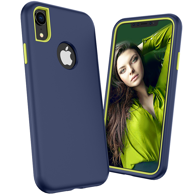 Phone Accessories for iPhone Xs <strong>Max</strong> Case, Hybrid Shockproof 3 in 1 Cellphone Cases For iPhone Xs <strong>Max</strong>