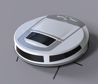 Infrared induction Robot vacuum cleaner with smart voice function