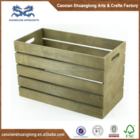 wooden shipping crates for vegetables