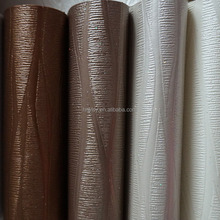 Pvc synthetic artifical rexine leather fabric for making car trunk floor mat