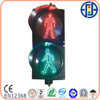 200mm LED static Pedestrian Traffic lamp