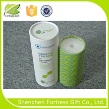 Customized colorful cosmetic paper tube
