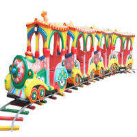Top chinese hot mini train game child amusement rides Elephant Train for sale