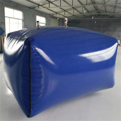 raw water tank rectangular shape Plastic Water Bladder Tank 1000liters