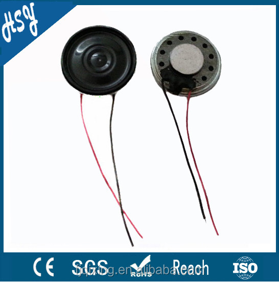 Professional 23mm 8ohm 0.5w ultra mini speaker
