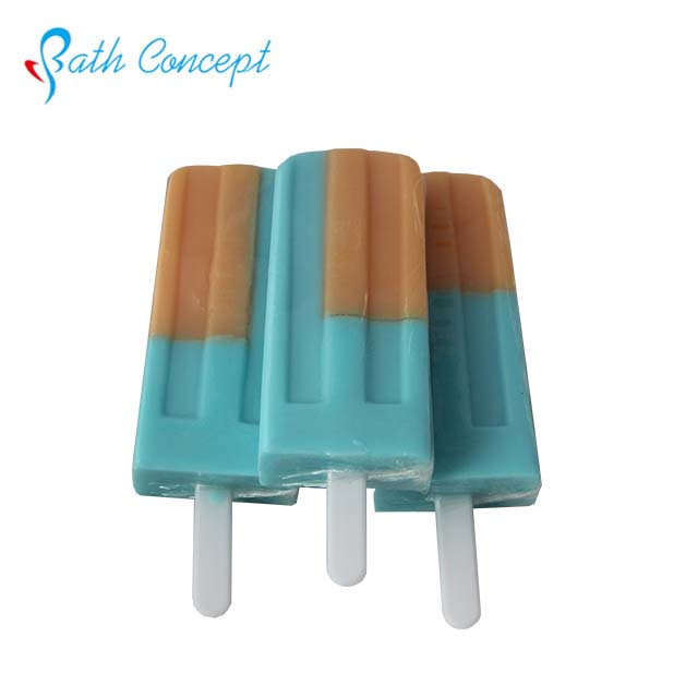 Body cleaning popsicle fruit scent foam cute children bath soap