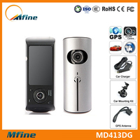 2015 Alibaba hottest 2.7 inch Mfine Dash Cam/Super night vision/Built-in GPS/two camera car dvr wholesale