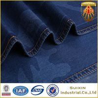 Hotsell 100% cotton denim fabric stock lot in india for jeans