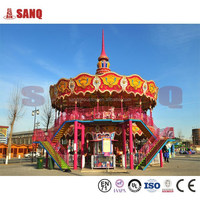 2015 New Products Children Games Carousel Horse For Sale