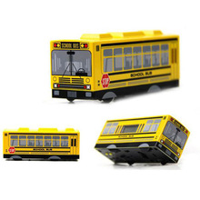 Antique Style classic Jual Retro Automatic Turn moving school bus alarm clock electronic clock never automatically turn off