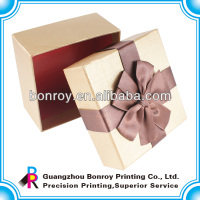 Paperboard Box with Ribbon Handle