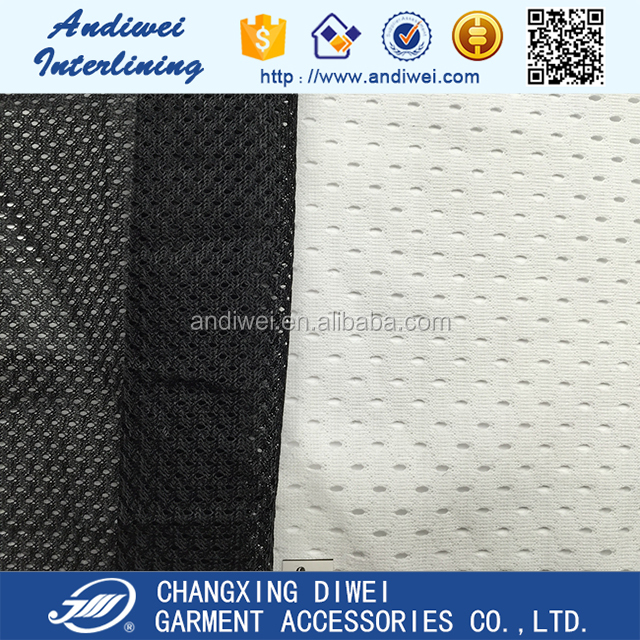 Free sample Factory price tricot super mesh poly 100% polyester fabric