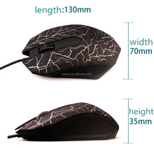 Wholesale Free Shipping 3D Wired Mouse USB 2.0 Gaming Mouse Optical Mice For Computer PC