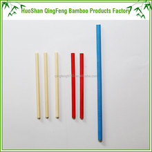 QF wholesale paint stick bamboo craft game stick