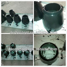schedule 40 steel concentric pipe fittings reducer