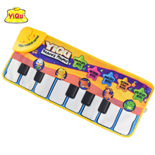 Hot Musical Piano Mat Piano Playmat for kids Baby play rugs Music carpet