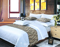 Hotel Duvet Cover Set Bedding Egyptian Cotton Jacquard Queen