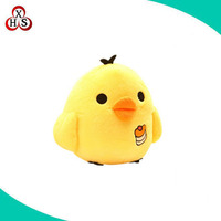 Wholesale Environment hot sale stuffed singing plush chicken toy with music