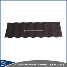 Luxury villa roof tile, stone coated roof tile, metal shingles roofing tile